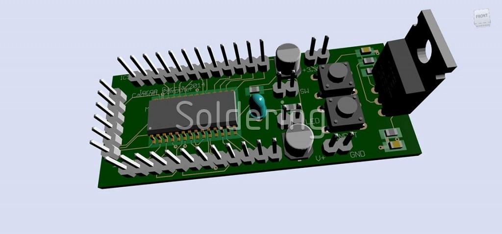 Autodesk EAGLE PCB design software free download | Soldering